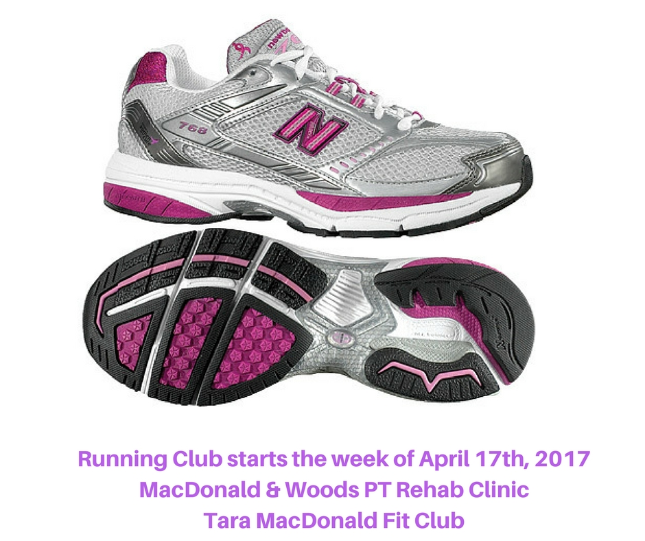 Running Club starts the week of April 17th, 2017MacDonald & Woods PT Rehab ClinicTara MacDonald Fit Club